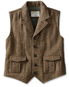 this vest could be super cute when paired with ultra feminine details, no?