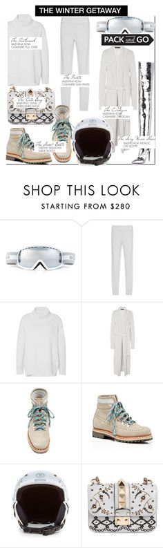 """""""The Winter Getaway-Verbier...."""" by nfabjoy ❤ liked on Polyvore featuring Bogner, Valentina Kova, Tabitha Simmons, Valentino, Balenciaga and Packandgo"""