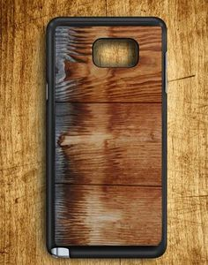 Wood Burn Texture Samsung Galaxy Note Edge Case