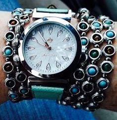 Barbados necklace and Quick Change watch #versatile #premierdesigns