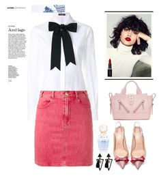 Sin título #115 by fautumm on Polyvore featuring polyvore, fashion, style, Dolce&Gabbana, Frame, Christian Louboutin, Kenzo, Smashbox, Lime Crime, Marc Jacobs and clothing