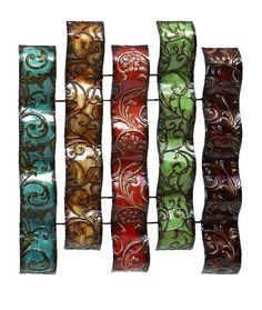 Benzara Costa Verde Designer Metal Wall Art Decor Sculpture 13951 New #Benzara
