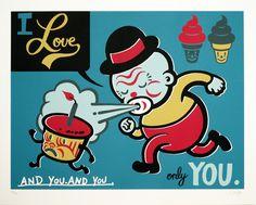 "Gary Taxali, ""I Love Only You"" - Jonathan LeVine Gallery - 1"