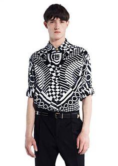 Versace - OP ART PRINT SHIRT