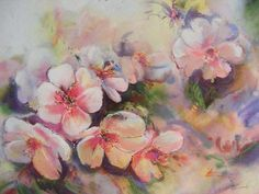 Lynette Cramb - Flowers in Pink