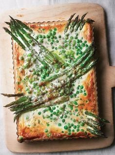 Wow people with this Spring Green Tart, full of seasonal flavour.