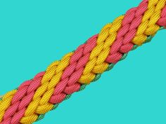 How to make a Chained Candy Falls Sinnet Paracord Bracelet