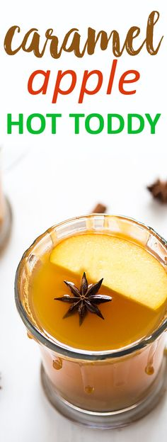 Caramel Apple Hot Toddy | theblondcook.com