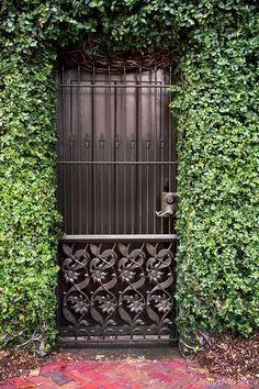 Southern Photography - Secret Garden - Old Garden Gate