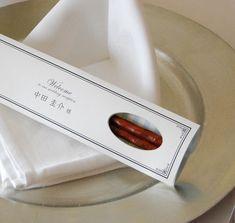 結婚式当日は席札、翌日からはマイ箸♡世界にひとつの『名入れ席札お箸』って知ってる?*にて紹介している画像