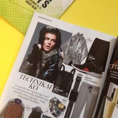 Cukovy silver coat in Marie Claire magazin!