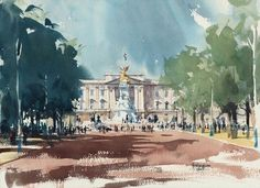 Buckingham Palace by Keith Hornblower