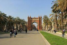 Arc de triumf in Barcelona