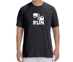 Men's Maryland Flag Run T-Shirt