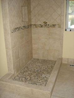 Rock tile-Master bath?