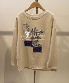 """""""한 아이의 〓VOV ★ 봄 모델 패션 야생 라운드 넥 스웨터 〓AV1761- Taobao의 글로벌 역을 구입 한국어 카운터"""