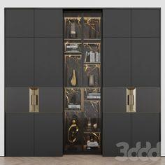 Wardrobe Interior Design, Wardrobe Design Bedroom, Master Bedroom Interior, Door Design Interior, Bedroom Decor, Luxury Wardrobe, Luxury Closet, Tv Wall Decor, Dressing Room Design