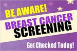 Brest Cancer supportive custom vinyl banner. Print online custom banner at bannerbuzz.ca.