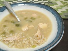 #Souplove - Gluten Free Chicken and Rice Soup | No One Likes Crumbley Cookies
