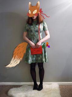 Fox mask | by Megan-Amey