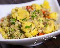 #Healthy #Cauliflower #quinoa #curry #salad #CauliflowerSalad #QuinoaSalad #CurrySalad is a good source of #vitamins and #minerals…Read more https://www.aashpazi.com/cauliflower-quinoa-curry-salad