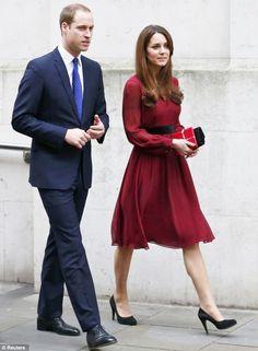 Kate Middleton & Prince William.