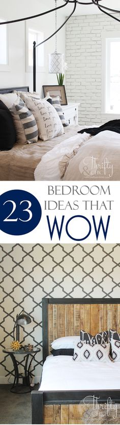 23 amazing bedroom wall and ceiling ideas worth stealing! Bedroom decor and decorating ideas