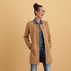 Crazy for coats! Sneak a peacoat at our favorites for the season on blog.stitchfix.com.