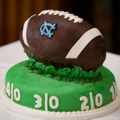 Grooms cake idea except GA of course...man I really must love him to consider that