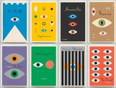 Peter Mendelsund's fantastic series of Kafka covers