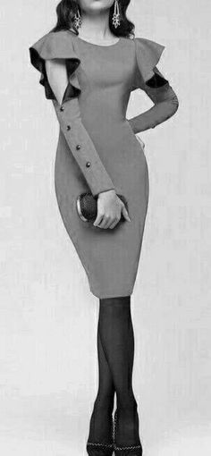 Classy dress classy look Fashion Details, Look Fashion, Womens Fashion, Fashion Design, Fashion Trends, Fashion Inspiration, African Wear, African Fashion, Vintage Mode