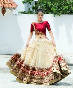 Beautiful Bridal Lehenga online for Marriage at Mirraw Shopping. Buy Indian wedding lehengas with varieties of designs and collection for women on best occasions at discount prices Patiala Salwar, Anarkali, Lehenga Choli, Net Lehenga, Bollywood Lehenga, Lehenga Blouse, Indian Wedding Outfits, Indian Outfits, Indian Attire
