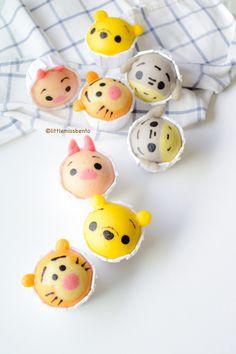 Winnie the Pooh Disney Tsum Tsum Deco Steam Cake Recipe (13)