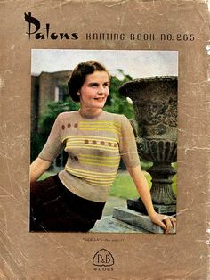 1940s Angora Knitting Patterns for Women by BessieAndMaive on Etsy, $12.00