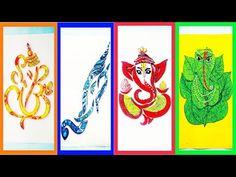 Eco Friendly Ganesha Making Easy At Home/Ganapati Bappa Making/DIY/Paper Art /Quilling Ganesha - YouTube Diy Paper, Paper Art, Vj Art, Eco Friendly Ganesha, Art Quilling, Simple Art, Paper Flowers, Arts And Crafts, Wall