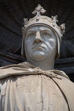 Charles I (1226 – 1285), known also as Charles of Anjou, was the King of Sicily from 1266 -1282. Thereafter, he claimed the island, though his power was restricted to the peninsular possessions of the kingdom, with his capital at Naples (and for this he is usually titled King of Naples after 1282, as are his successors). Charles was the youngest son of Louis VIII of France and Blanche of Castile. see THE FOUR QUEENS. Ancestor