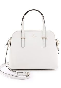 Sophisticated White Kate Spade Cross Body Bag Crossbody Purse