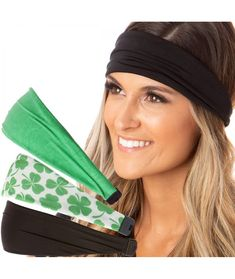 #Irish#Green#Headband#St#Patricks#Day#Accessories#Clover#Shamrocks#Headband#Xflex#Gift#Packs#C3194U0ND90 | Irish Green Headband St Patricks Day Accessories Clover Shamrocks Headband Xflex Gift Packs - C3194U0ND90 Stretchy Headbands, Women's Headbands, Hair Cover, Headband Styles, Bad Hair Day, Caps For Women, Headbands For Women, Fashion Face Mask, St Patricks Day