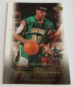 2003-04 UD LeBRON JAMES ROOKIE CARD #3 #ClevelandCavaliers