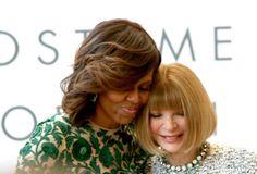 Anna Wintour & Michelle Obama