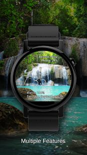 Watch Face Waterfall Wallpaper- screenshot thumbnail
