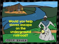 Do you study the underground railroad during Black History Month? We read The Drinking Gourd and a few other stories about the underground railroad and Harriet Tubman. This is a great writing assignment to do at the end of the unit. Would you help a slave escape to freedom on the underground railroad?