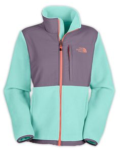 Denali, The North Face.  Love this frosty blue color!