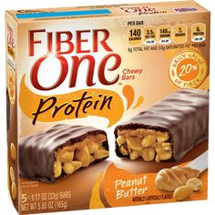 Fiber One Chocolate-Covered Protein Granola Bars
