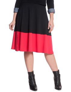 Plus Size Fashion - Colorblock Midi $58 PLUS 50% OFF w/ Promo Code SPLURGE   Earn Cashback when you shop at ELLOQUII.com! Sign up with DubLi for FREE at www.downrightdealz.net and GET PAID for all your online shopping!