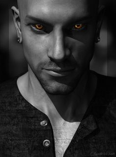 Thank you for looking! DAZ Studio 4.6 render. Little PHotoshop postwork. Now I am thinking... should I keep his head shaved? Or maybe he has a short mohawk?