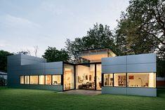 Gatermann Schossig Architekten Bungalow im Gruenen im Gruenen Bungalow Aussenansicht