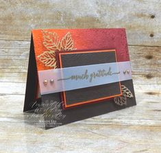 Around the World on Wednesday Blog Hop - Let's Shake Things Up! - Creativelee Yours Mini Sales, Quick Cards, Thanksgiving Cards, Fall Cards, Cards For Friends, Paper Design, Shake, Cardmaking, Wednesday