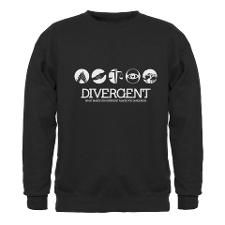 Divergent - Different & Dangerous Sweatshirt's, Love a few of these