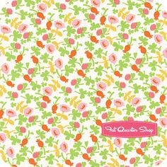 Briar Rose Pink Calico Yardage SKU# 37027-6 - Fat Quarter Shop
